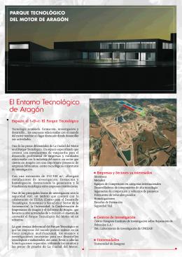 El Entorno Tecnológico de Aragón - Parque Tecnológico del Motor