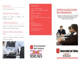 Folleto Esp Finanzas UT-IDEAD.pub