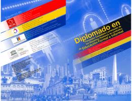 folleto Diplomado en Formación Ciudadana y DD HH