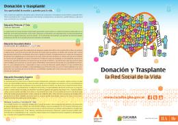 Donación y Trasplante