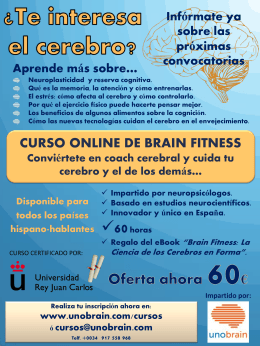Folleto Curso BrainFitness eMagister definitivo