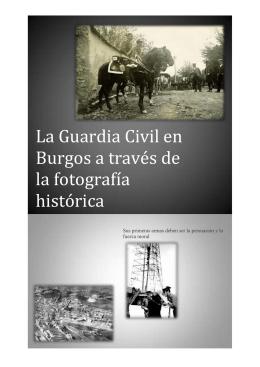 La Guardia Civil en Burgos a través de la fotografía histórica