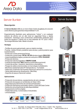 Folleto AD Server Bunker (SP) - 2015