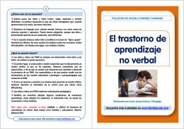 El trastorno de aprendizaje no verbal [Modo de compatibilidad]