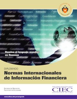 Folleto Diplomado NIIF 2013 - FLOR