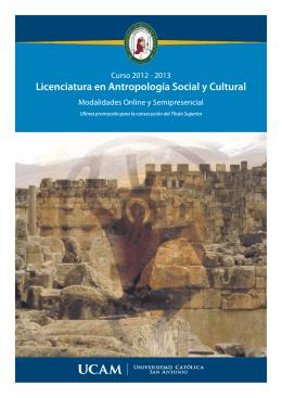 folleto antropologia 2012