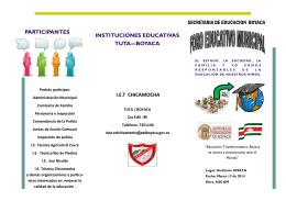 folleto foro