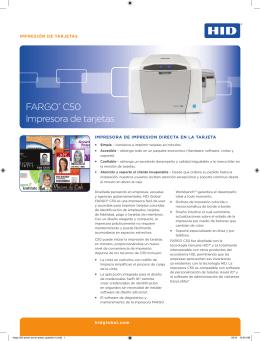 FARGO® C50 Impresora de tarjetas