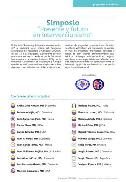Folleto CIR2014 PDF.cdr - SIDI - Sociedad Iberoamericana de