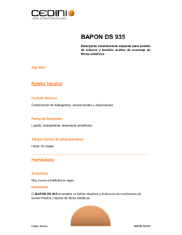 BAPON DS 935