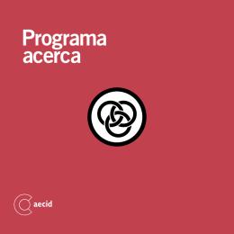 Folleto del Programa ACERCA
