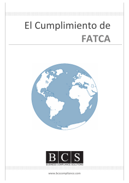 folleto FATCA