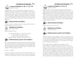 Leamos la Palabra - Arquidiócesis de Cartagena