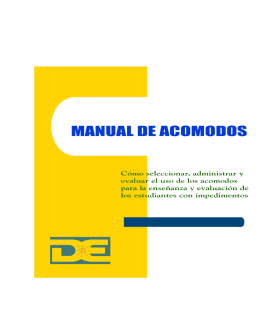Manual de Acomodos Razonables