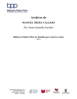 documento completo - Inicio - Biblioteca Pública Piloto de Medellín