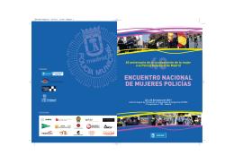ENCUENTRO NACIONAL DE MUJERES POLICÍAS