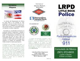 Spanish Brochure 4-09