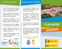 Tríptico Plan Mayor Seguridad