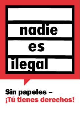 Sin papeles – ¡Tú tienes derechos!