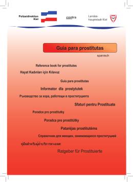 Hayat Kadınları için Kılavuz Guía para prostitutas