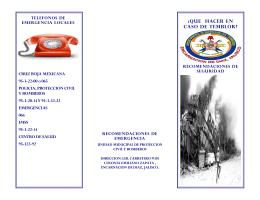 CRUZ ROJA MEXICANA 95-3-22-00 o 065 POLICIA, PROTECCION