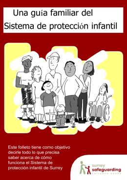 Una guía familiar del Sistema de protección infantil