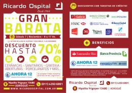 RICARDO OSPITAL - GRAN BARATA FOLLETO Corregido