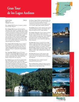 gran tour de los lagos andinos