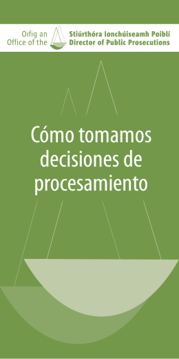 Brochure 4 - Office of the Director of Public Prosecutions