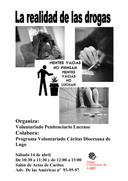 Abril folleto de la charla-formación
