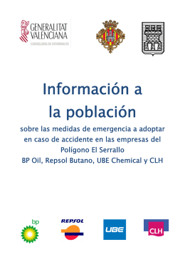 Folleto general - 112 Teléfono de emergencias