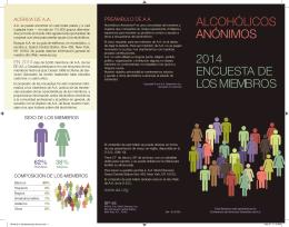 SP-48 Alcohólicos Anónimos 2014 Encuesta de los Miembros