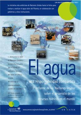 El Agua: una responsabilidad compartida, 2 - unesdoc