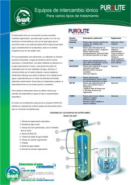 Folleto Ablandadores - Plantas de Tratamiento de Aguas Residuales