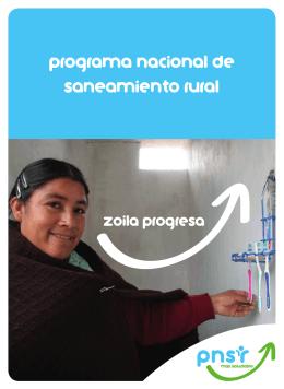 Programa Nacional de Saneamiento Rural