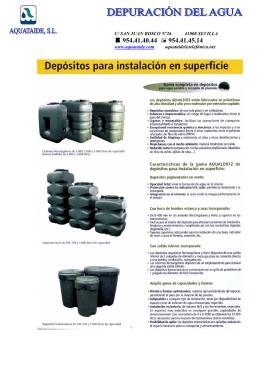 FOLLETO DEPOSITOS AGUA POTABLE 3 FORMATOS
