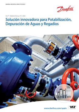 Solución innovadora para Potabilización, Depuración de Aguas y