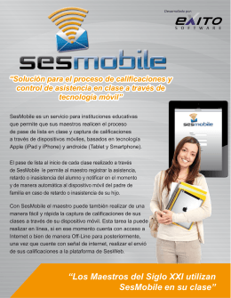 SESMOBILE FOLLETO LOW