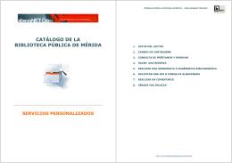 folleto servicios personalizados opac 2