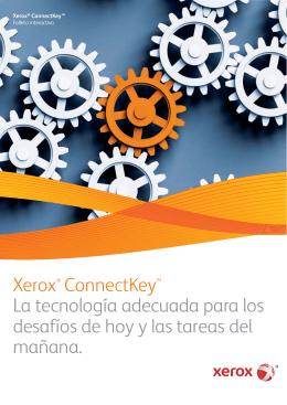 Folleto Xerox ConnectKey - Software de Control de Impresoras