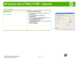 HP LaserJet P1000 and P1500 Series - Create a booklet