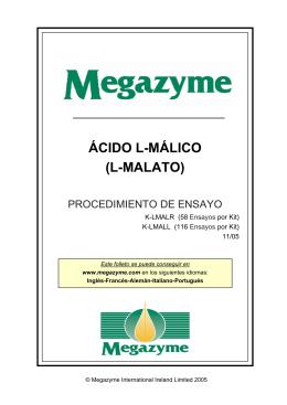 ÁCIDO L-MÁLICO (L