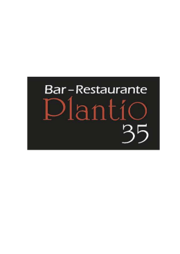 Plantio 35 Folleto - Restaurante Plantio 35