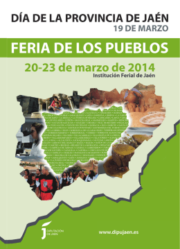 Folleto Feria de los Pueblos 2014 (21032014).indd