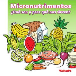 Folleto: Micronutrimentos - Dirección General de Promoción de la
