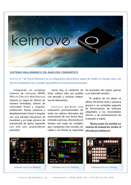 Folleto Keimove Medical