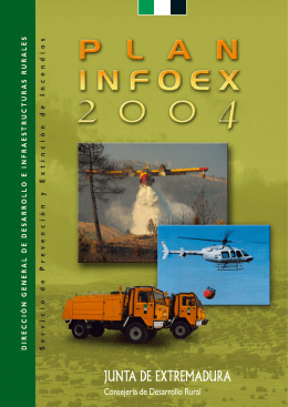 Folleto Plan Infoex 2004 - Servicio de Prevención y Extinción de