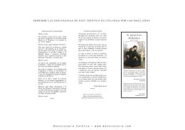 Versión PDF para imprimir folleto tríptico