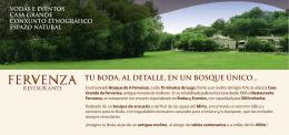 Folleto - Organizamos tu Boda en Lugo | BodasLugo.net