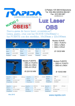 FOLLETO LASER OBEIS